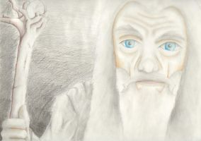 Gandalf by fireilluminator