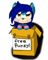 it's a punky in a box by queenmafdet