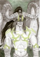 Illidan Stormrage by LauraChisbert