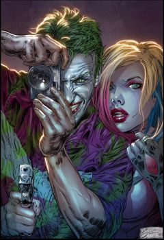 Joker and Harley redux by Steele67