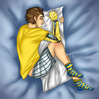 Sleepy Rhys by Graceafur