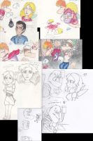 Intense RP sketches... by FantasyDreamer16
