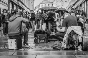 Buskers/Artists eye view by Gaz1978