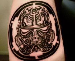 Stormtrooper tribal. by J-STROZ