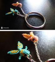 Fish keyring by Breach90