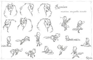 Romian - action by Fedini