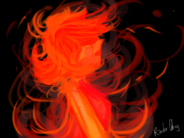 Flame Princess by Randon-thing