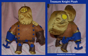 Treasure Knight Plush by DonutTyphoon