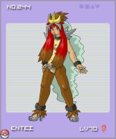 Entei Gijinka by cuddles-n-cow