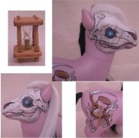 My Little Pony OOAK DEATH by eponyart