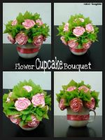 Flower Cupcake Bouquet by SongAhIn