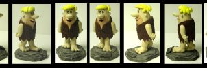 Barney Rubble statue. Flintstones by FantasyCharacterz