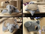 Lapras Pillow Pet by SunsetSovereign