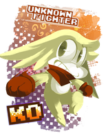Gift: Unknown Fighter by SynDuo
