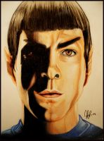 Star Trek - Mr. Spock by Myrinihanna