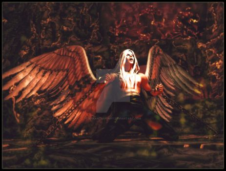 Archangel for xXxAngelOfDeath by 3D-Fantasy-Art