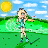 the reason of rosalina not use golf attire by ninpeachlover