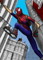 Mangaverse Spiderman by spiketherogue