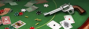 mess on a poker table by eleth89
