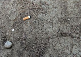 the dead of the cigarette by MyMaSs