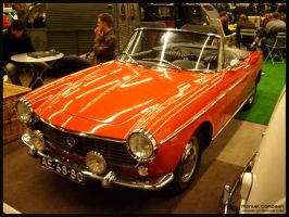 1966 Fiat 1500 Cabriolet by compaan-art