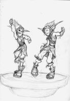 Jak and Daxter- dance by ab-lynx