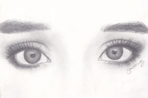 Practicing Eyes by essiemichelle