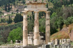 Tholos with a view by mr-lacombe