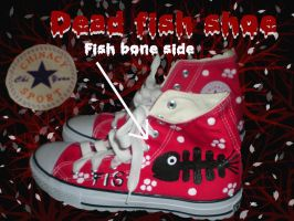 Fish bone shoe by Bernybear