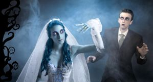 You may kiss the Corpse Bride by gyaban