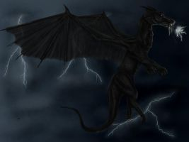 Lightning Storm by mordrelupis