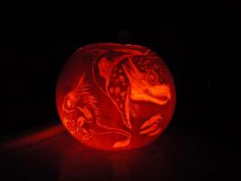 Froud inspired pumpkin by Starleaf-Creations