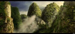 The mountain ridge by Olgola