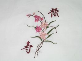 Cherry Blossom Embroidery by AltairKaosu