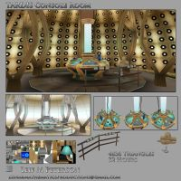 TARDIS Console Room by TheBothan