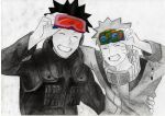 Obito and Naruto by Codaline11