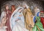 The nativity by DreamyNaria