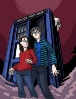 Dr. Who Birthday Commission by MichaelMayne