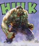 hulk digital practice by leinilyu