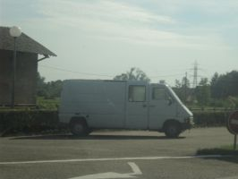 The most horrible looking French van ever! by Night-traveller