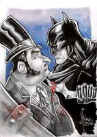 BATMAN vs PENGUIN by Vinz-el-Tabanas