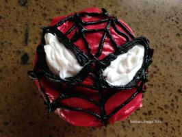 Spidey Cakes by Sombraluz-Images