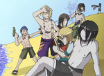 Gravston Summer Time - Guys by Rogo-the-Golden-Boy