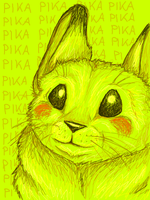 Giant Yellow Rat from Hell by PixleRelish