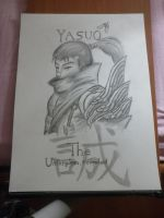 Yasuo by Kaiserinferno