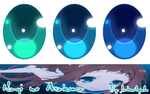 Nagi no Asukara Eye Texture pack + Download by Jaimelynh