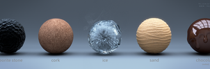 Cycles Material Studies - Volume 4 by reynante