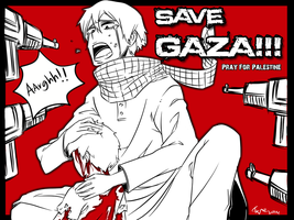 save Gaza @ Pray for Palestine by taufiq911211