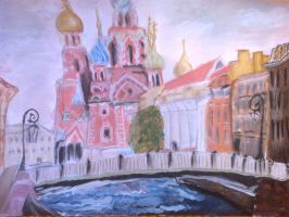 Cathedral on Spilled Blood by AmixUruha