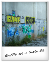Graffiti art in Sesto SG by Metalelf0